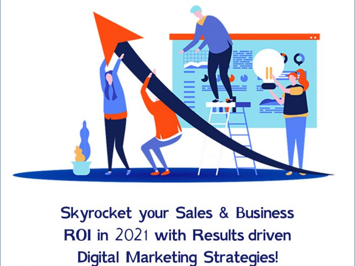 Increasing Business Sales with Digital Marketing Strategies projected by the best digital marketing agency in Hyderabad in 2021.