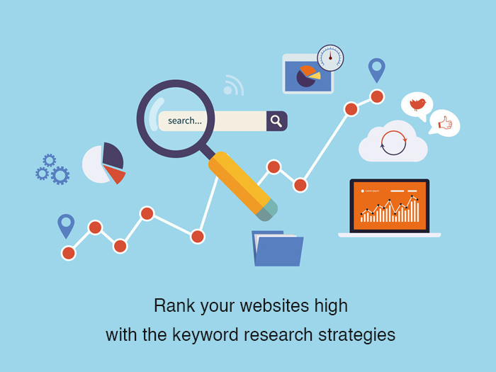 Getting top Rank in SERP's for your websites with the keyword research strategies implemented by the best digital marketing agency
