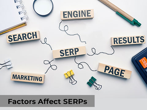 Detailed explanation about Factors Affecting SERPs